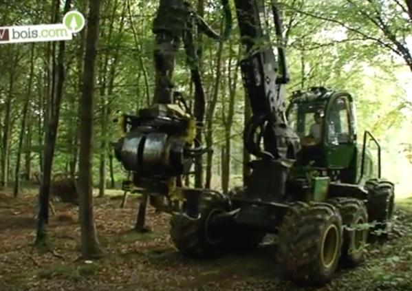 [Vidéo] Exploitant forestier - Le métier