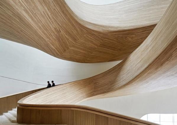 Inspiration : 8 somptueux escaliers bois