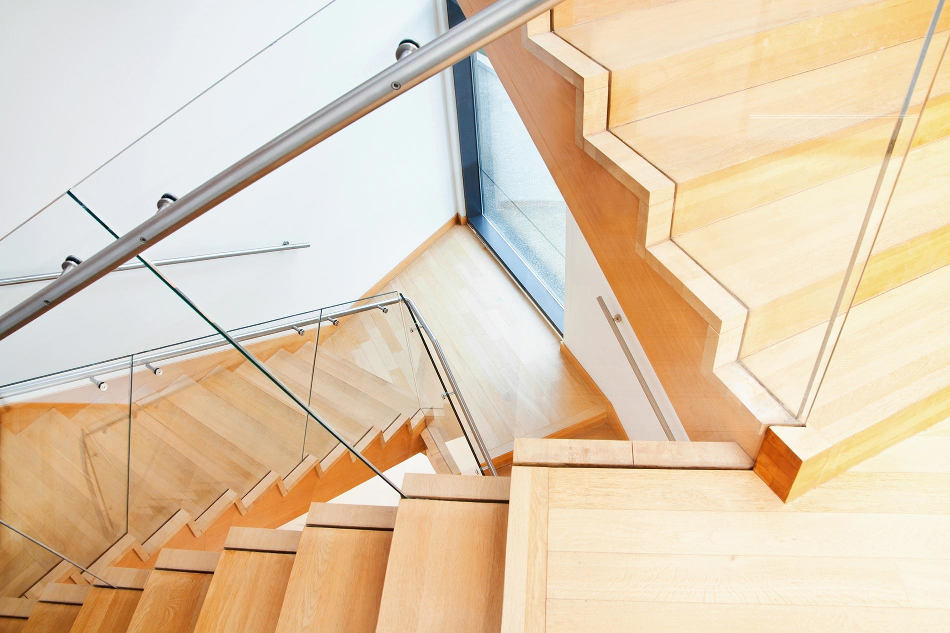 Les différents types d'escaliers bois
