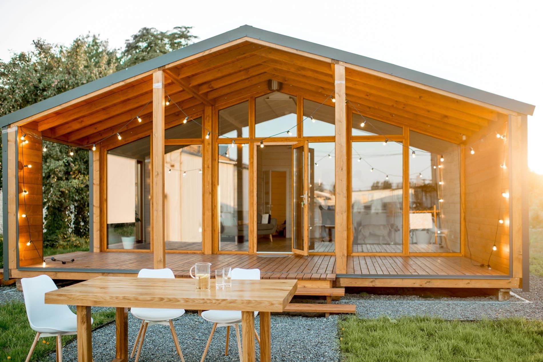 La maison en bois de demain