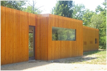 [Réalisation] Une maison écologique en bois dans les Landes