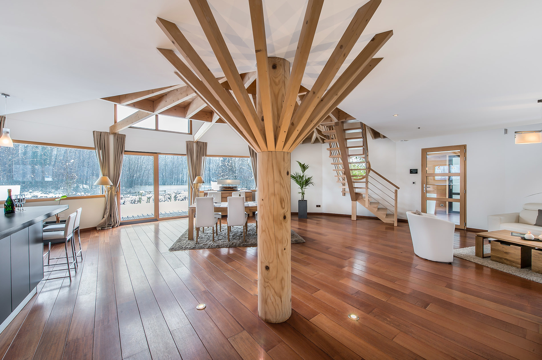 Aménagement bois : Qualité de l'air