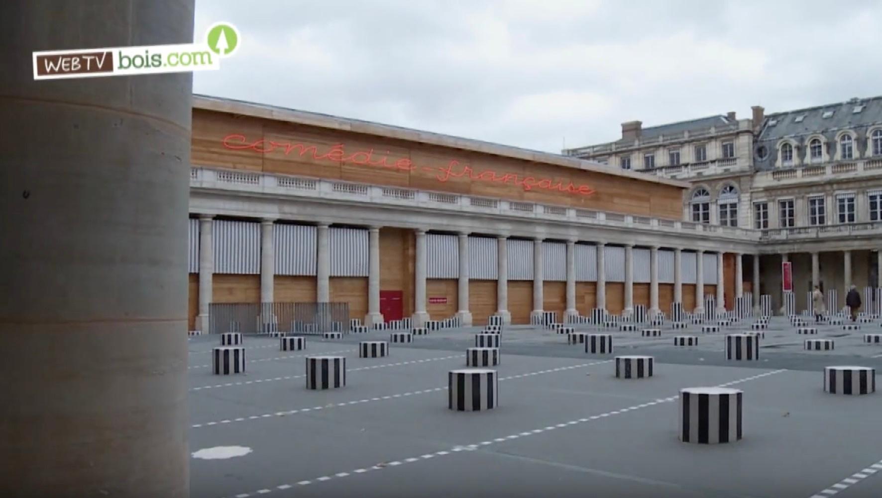 [Vidéo] Thêatre éphémère en bois