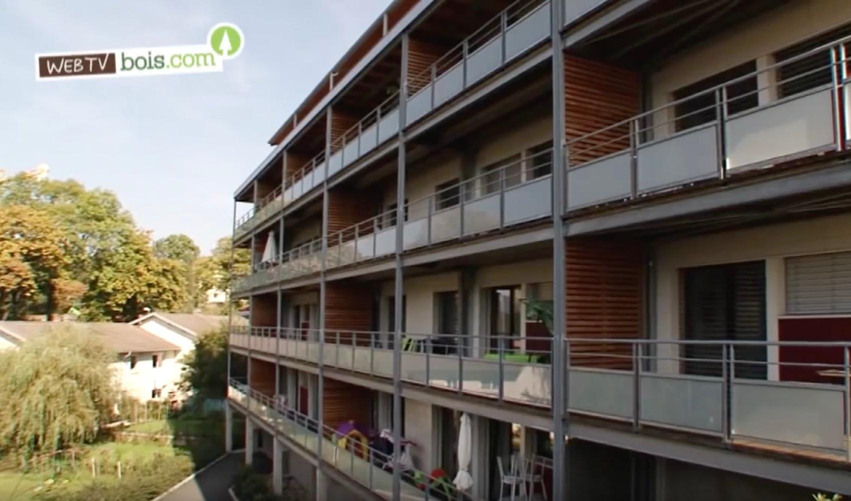 [Vidéo] Immeuble d'habitation bois : Le panneau massif contrecollé