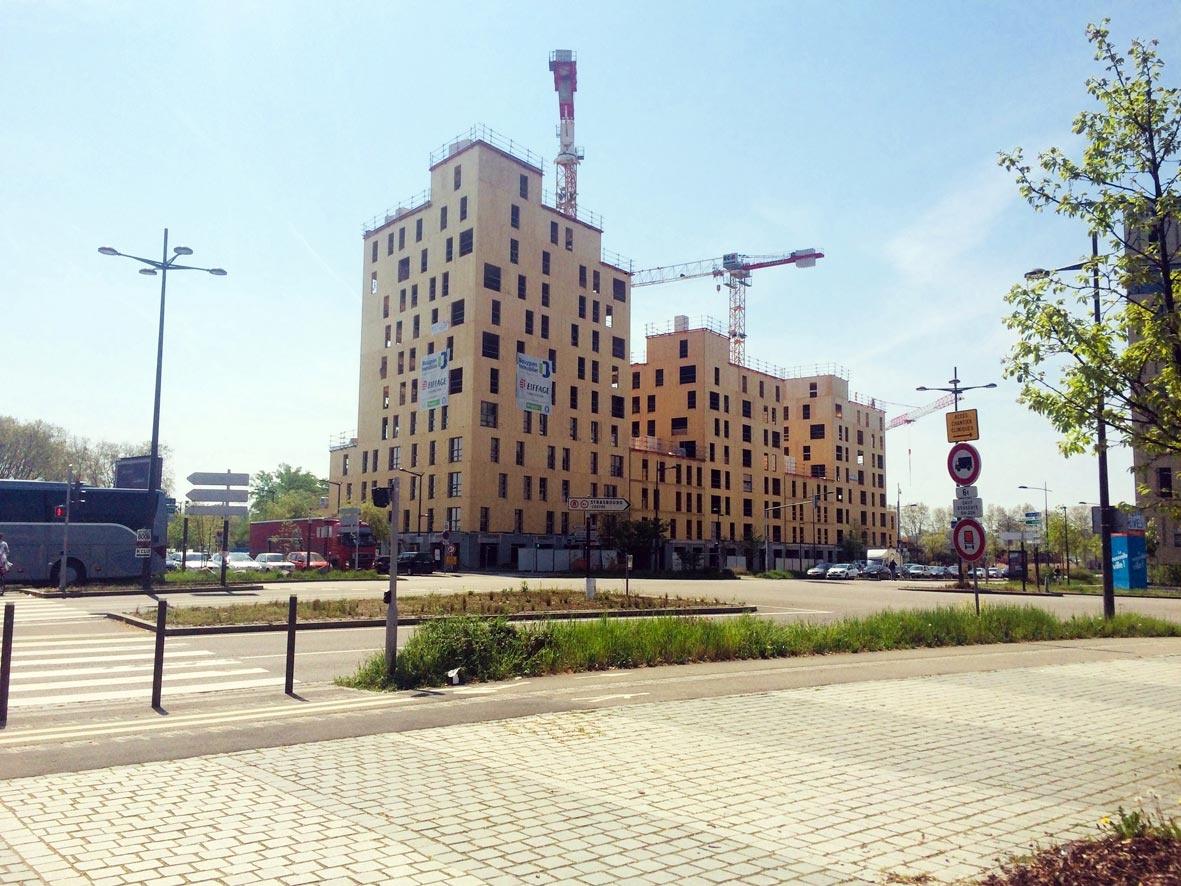 Une tour grande hauteur pousse à Strasbourg