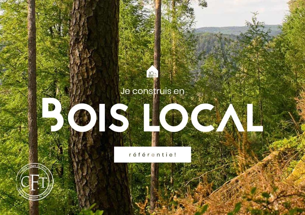 Le programme « 100 constructions publiques en bois local »