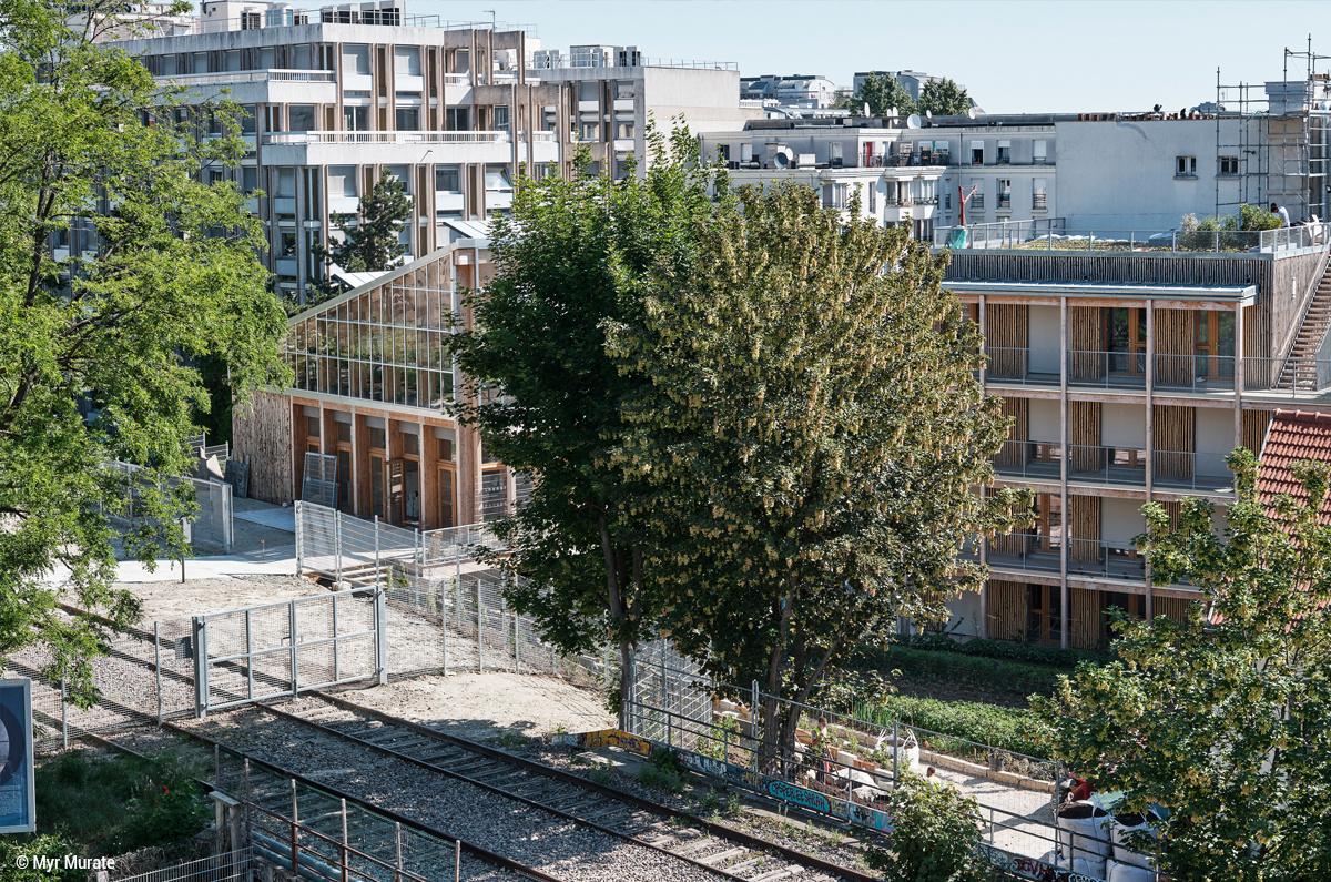 Agriculture urbaine et solidarité : La ferme du rail à Paris