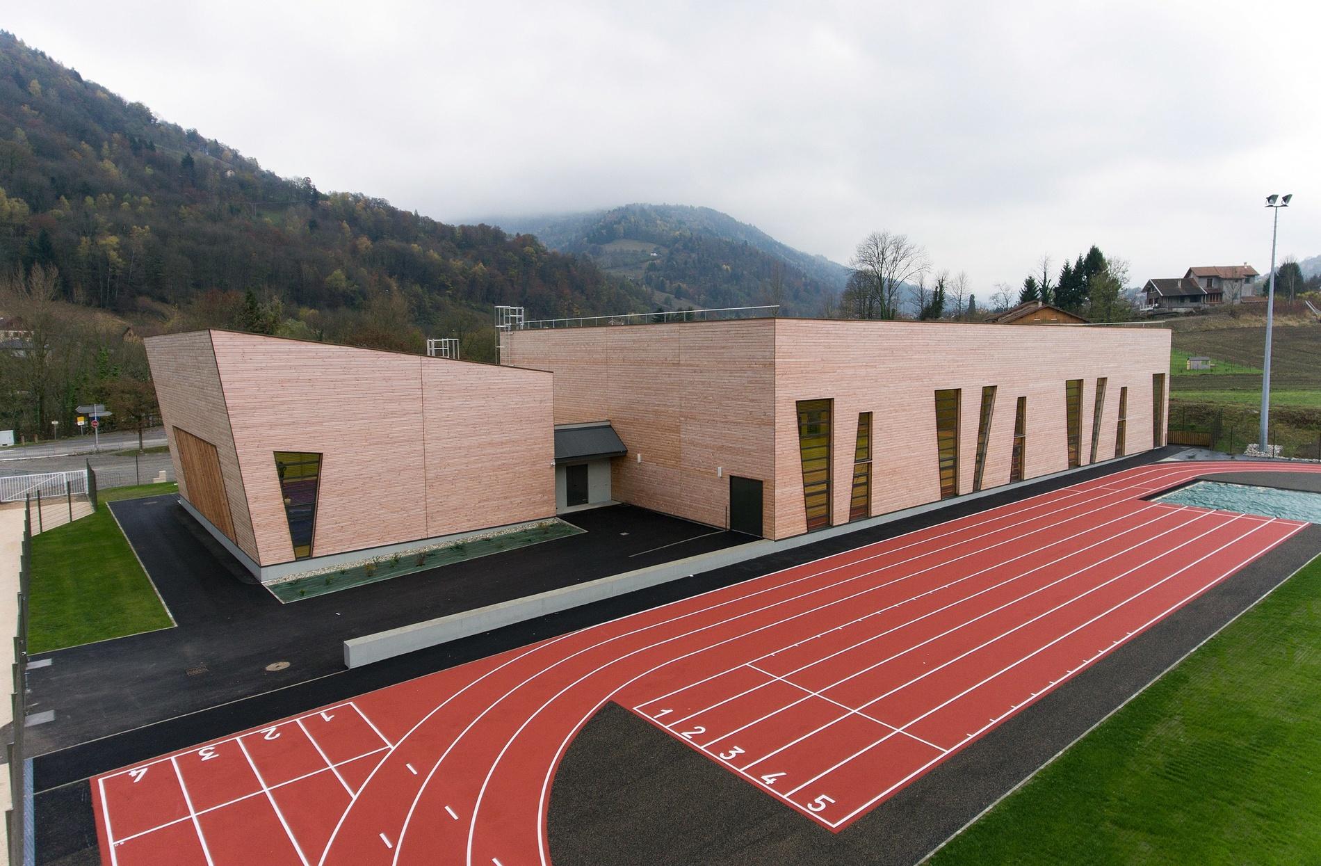 Parole d'architecte : le choix du bois pour le gymnase d'Allevard