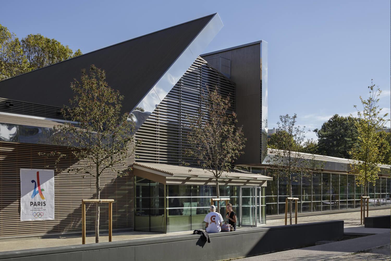 Parole d'architecte : le choix du bois dans le gymnase l'Atalante