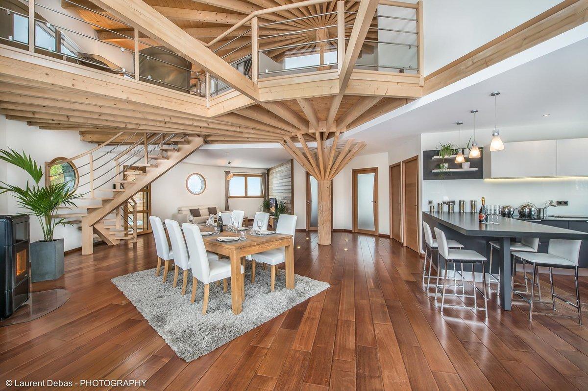 Habiller Un Poteau Interieur aménagement intérieur en bois (conseils & inspirations
