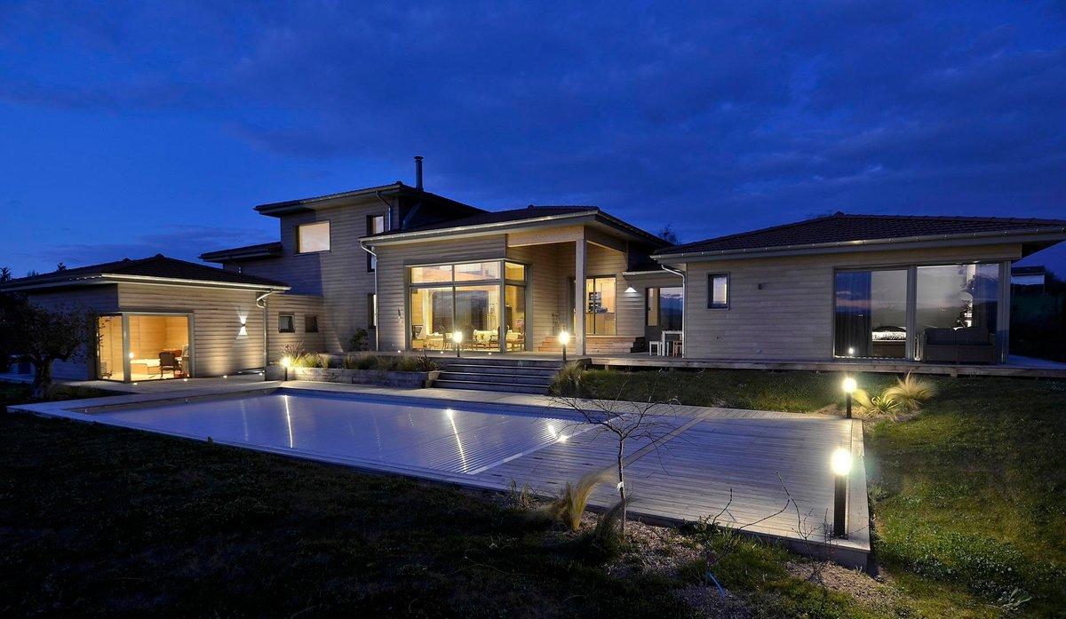 Le co t d 39 une maison en bois - Cout de la construction d une maison ...