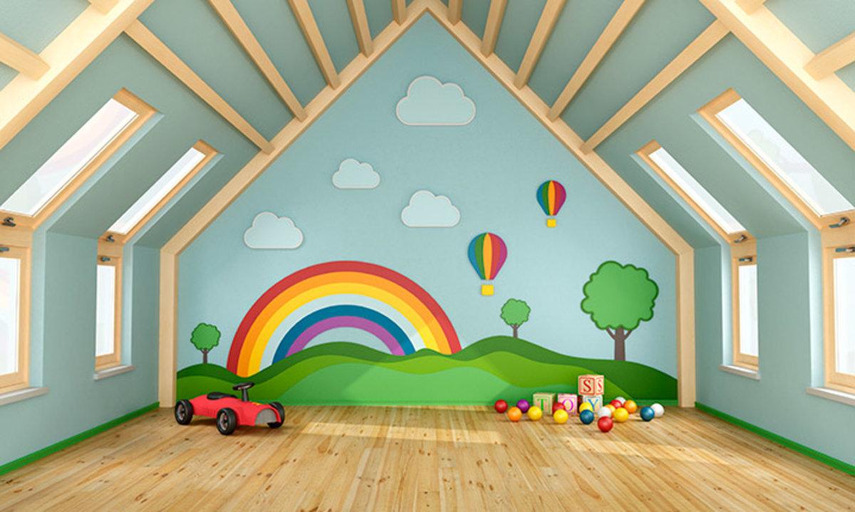 Installer Salle De Bains Combles aménager les combles avec une salle de jeux | bois