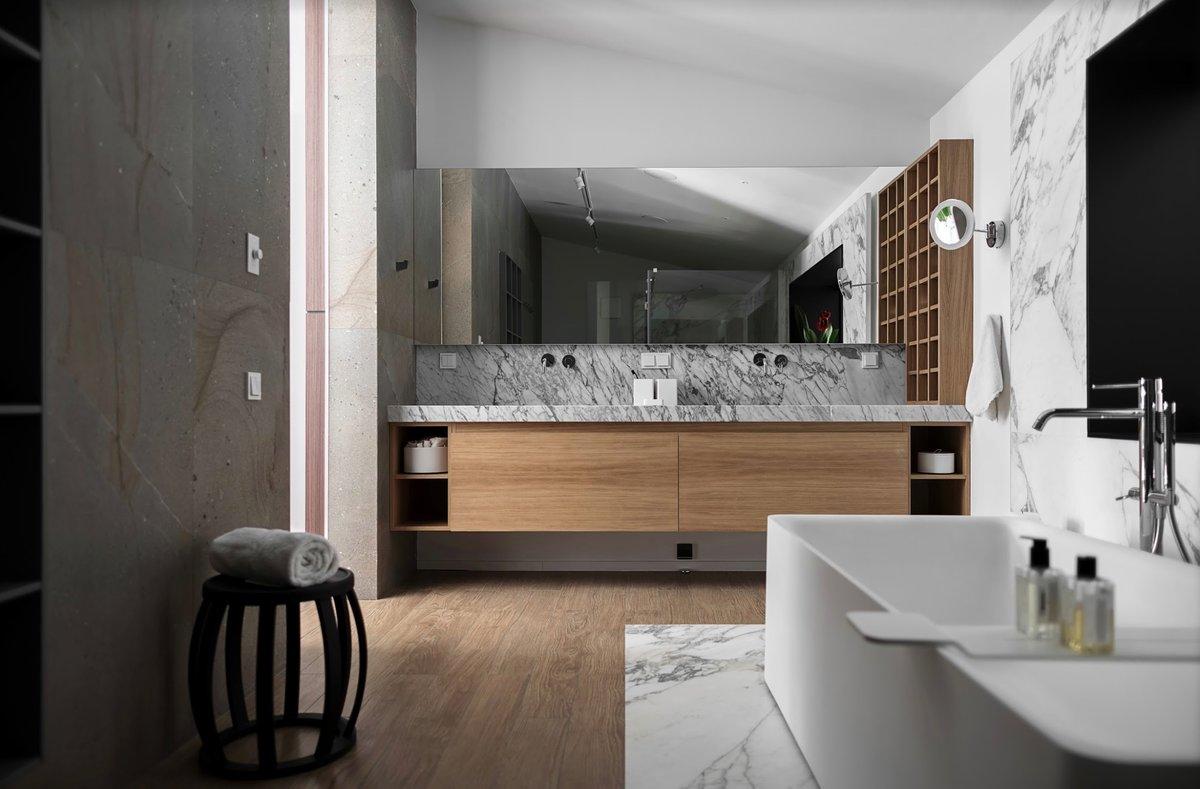 Design Traitement Bois Salle De Bains