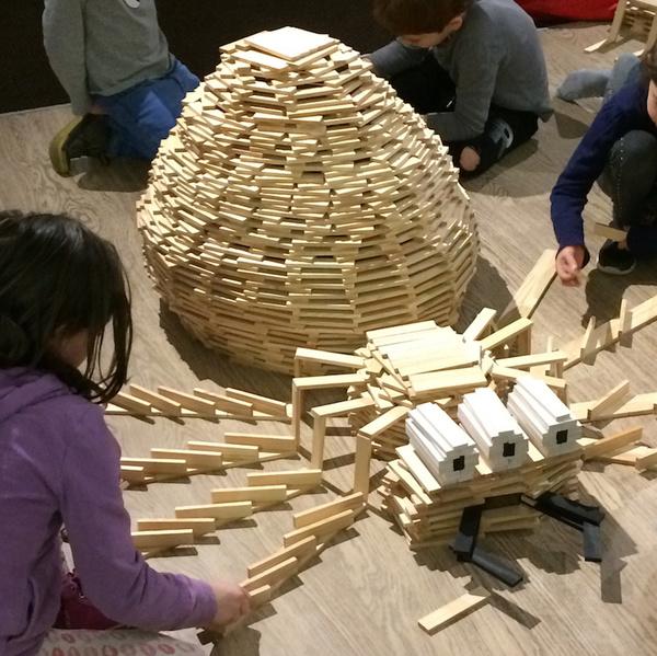 Atelier construction kapla