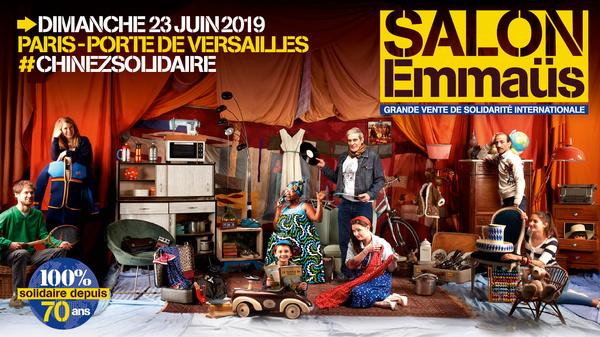 Le Salon Emmaüs 2019
