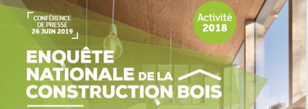 Enquête nationale de la construction bois 2019 (ACTIVITÉ 2018)