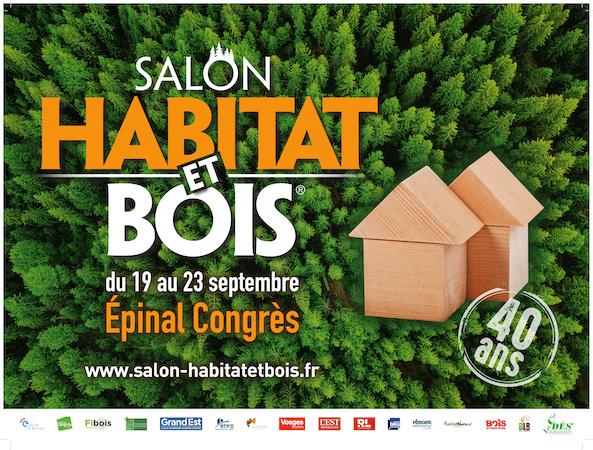 Salon Habitat et Bois Epinal du 19 au 23 septembre 2019