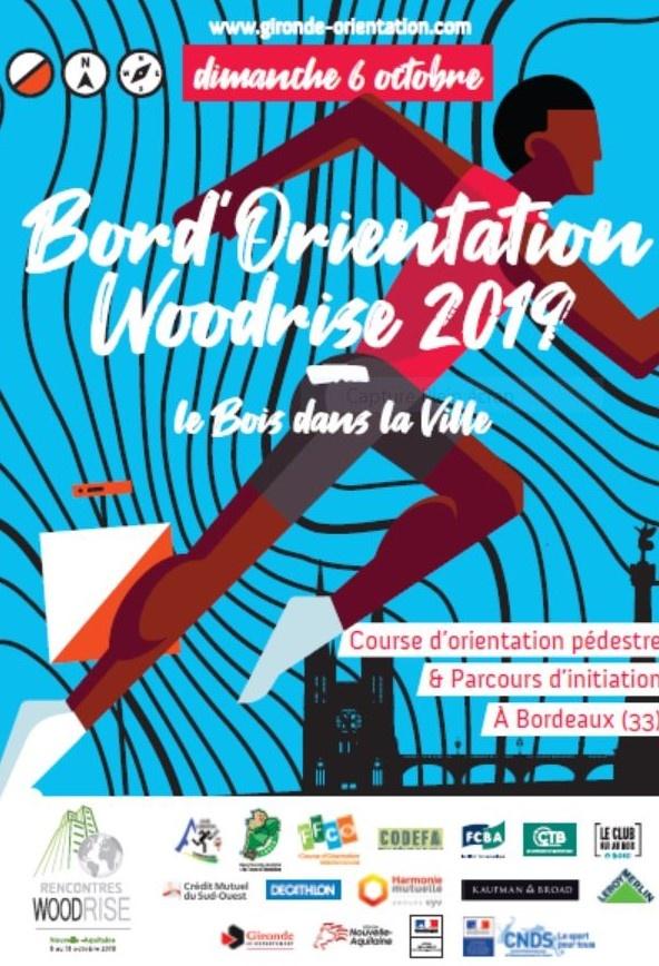 Course de relais Bord'Orientation Woodrise 2019 - Bordeaux