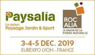 Salon Paysalia à Eurexpo Lyon du 3 au 5 décembre 2019
