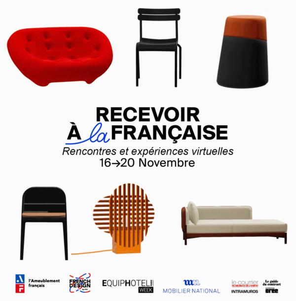 Recevoir à la française : Rencontres et expériences virtuelles