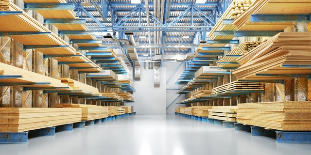 Les bâtiments industriels