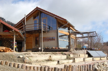 [Réalisation] Une maison bois passive dans le Alpes