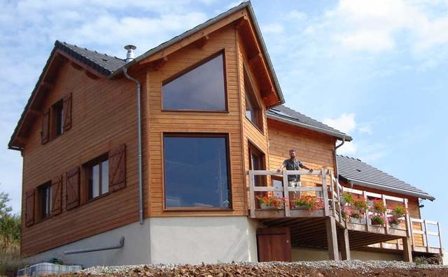 [Réalisation] Maison à ossature bois de Beauzely