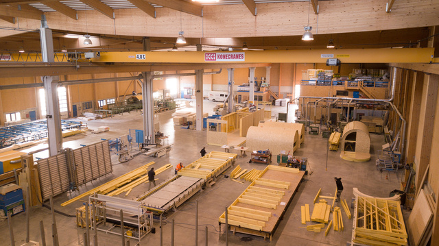 La construction bois, c'est économique