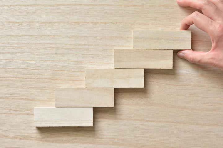 Visuel d'un escalier
