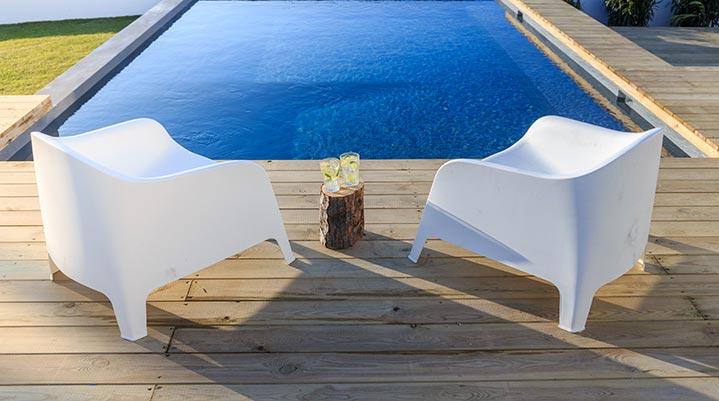 Exemple de piscine bois