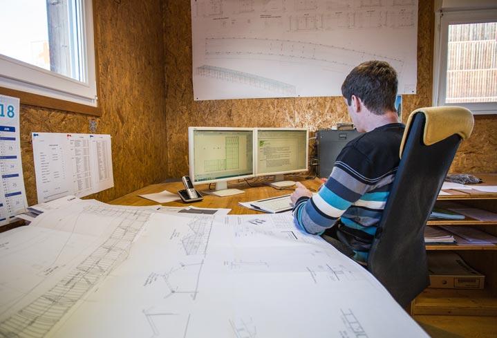 Bureau d'études pour la construction bois