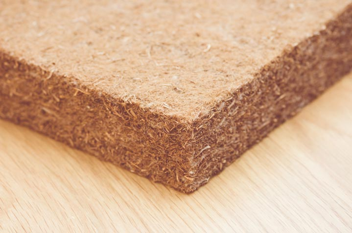 Isolation naturelle panneaux fibres de bois