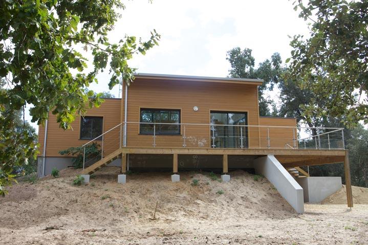 Maison bois sur terrain contraignant