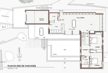 Realisation Maison Contemporaine Bois Et Maconnerie Bois Com
