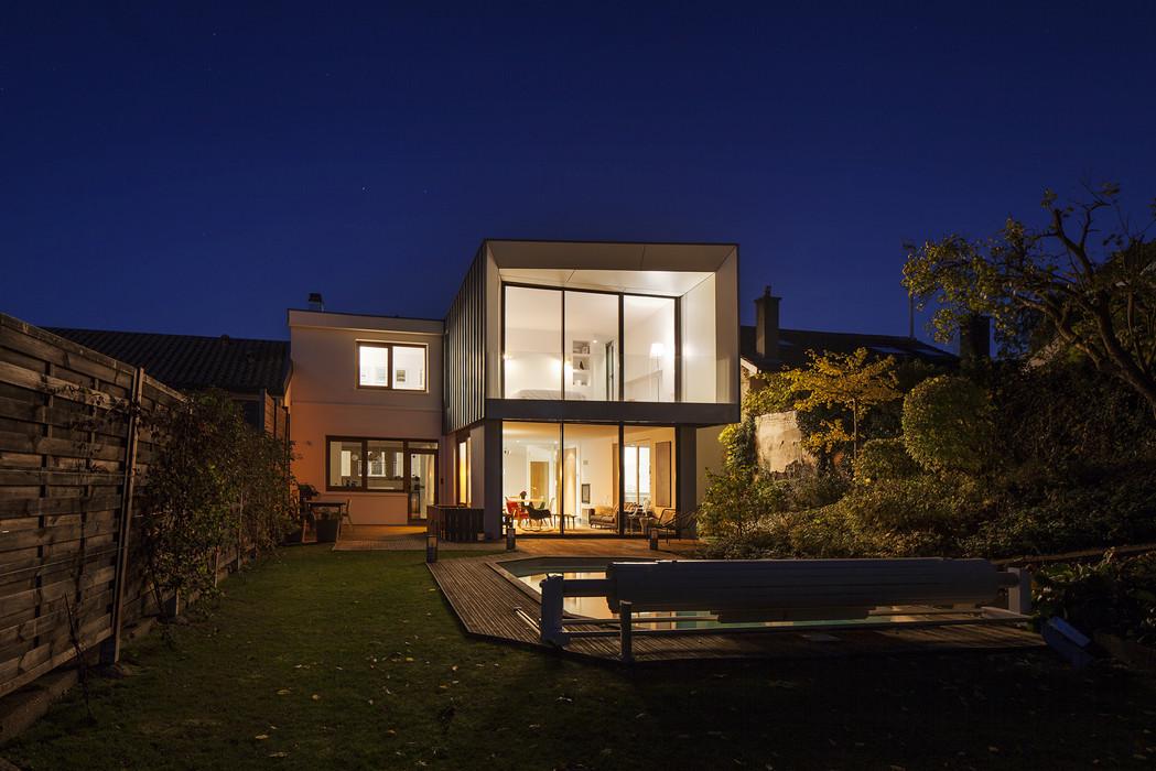 façade extension bois