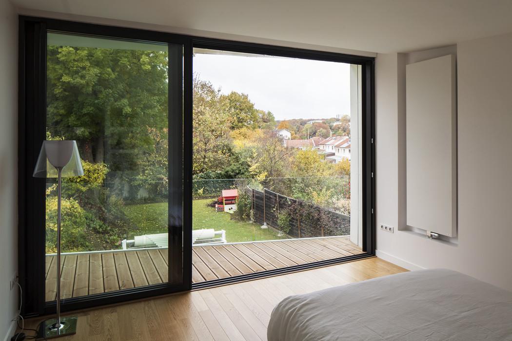 intérieur extension bois