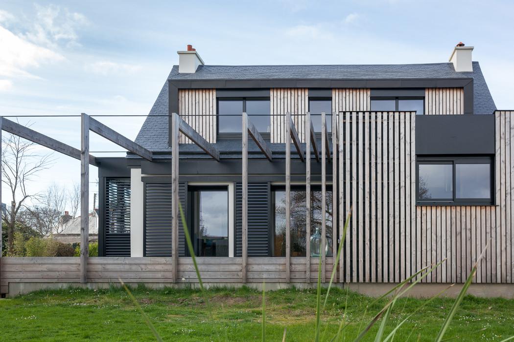 extension sur maison néo-bretonne