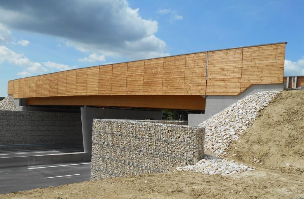 bois.com - Pont de Lure - équipement - - route - grand ouvrage - @glulam