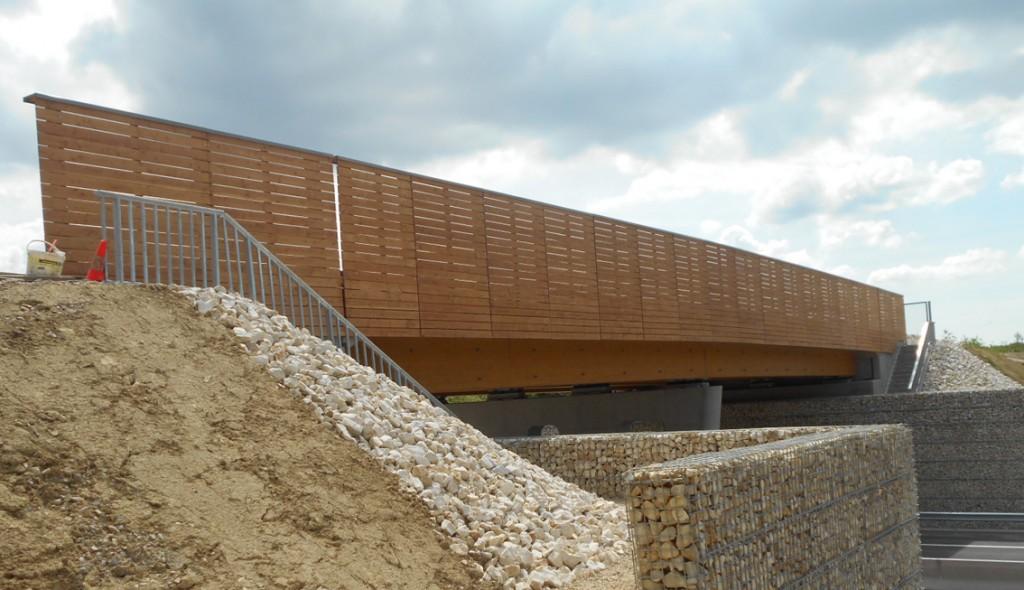bois.com - Pont de Lure - équipement - grand ouvrage - @glulam - route